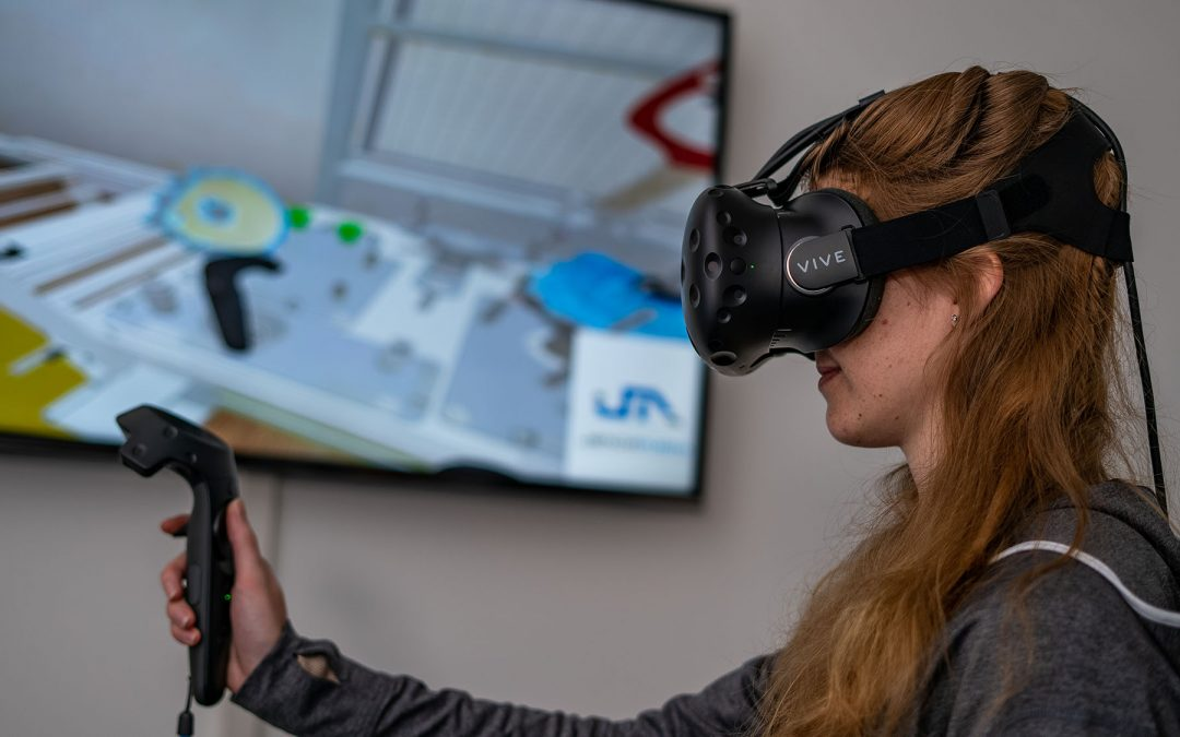 Industry 4.0: Virtual reality